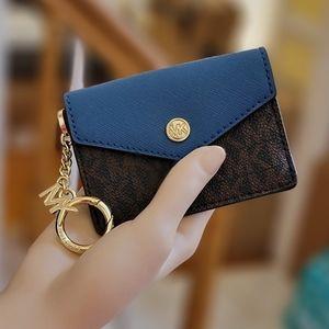 Michael Kors Kala SM Key Ring Card Case Wallet